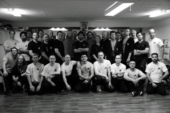 Close Quarter Combat Seminar in Sweden with Sifu Chris Collins